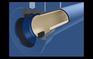 Ductile Iron Polyurethane-Lined Pipe DIPU (ISO 2531)