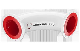 Abrasiguard AC Bend Polyurethane-Lined Pipe