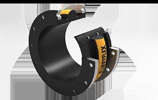 Slurryflex SJA Single-Arch Rubber Expansion Joint