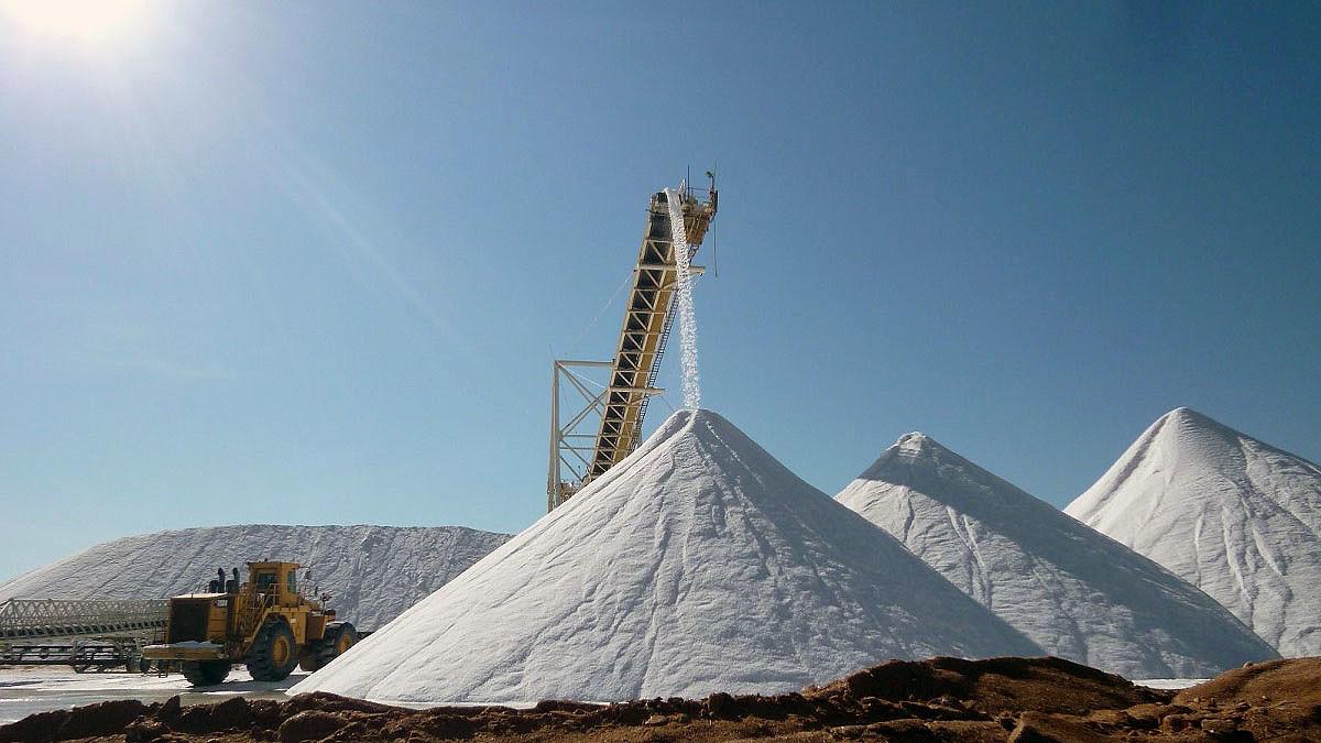 Shark Bay Salt Mine