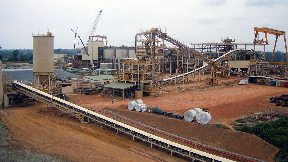 Akyem Processing Plant