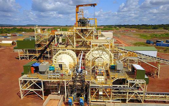 Wahgnion Gold Mine