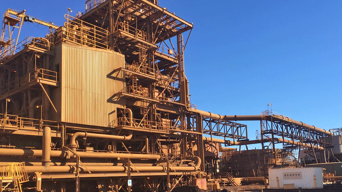Cloudbreak Mine Process Plant